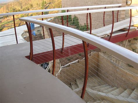 cable banister cable railing manufacturers cable railing information