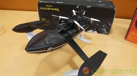 parrot minidrones review hands  ubergizmo