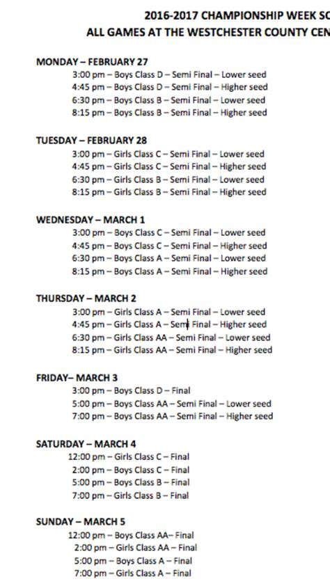 section 1 boys and basketball chionship week
