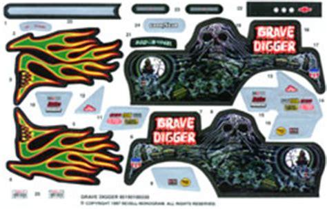 Monster Jam Aufkleber by Grave Digger Sticker Kit Bing Images