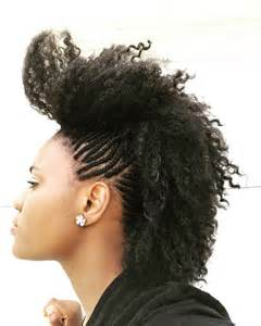 mwahahwk hairstule done using mohawk braids 12 braided mohawk hairstyles that get attention