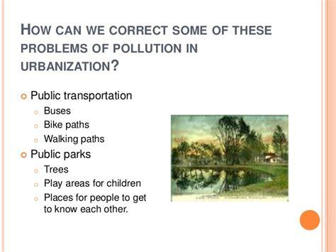 urbanization challenges environmental benefits challenges of urbanization
