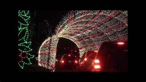 Winter Wonderland At Tilles Park Youtube Tilles Park Lights