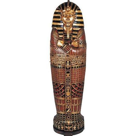 Amazon Bookcases Egyptian Sarcophagus Cabinet Large Mummy Bookcase 6 Ft