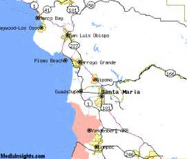 nipomo california map nipomo vacation rentals hotels weather map and attractions
