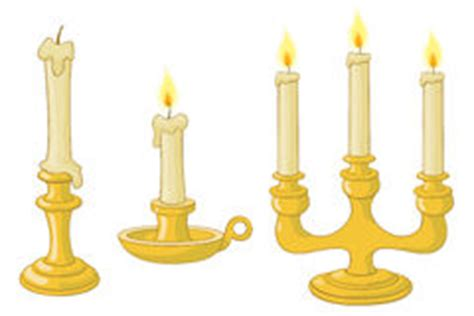 kerzenhalter clipart candelabrum stock illustrationen vektors klipart