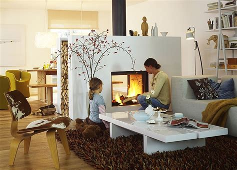 places on sided fireplace