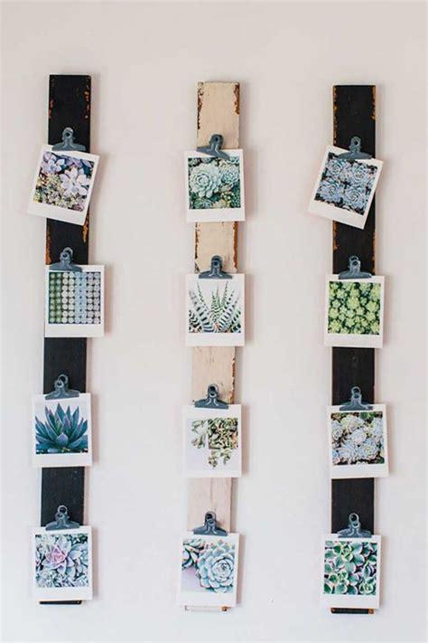 decoracin de paredes con fotos ideas con fotos polaroid