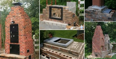 build your own backyard smoker how to build a brick smoker home design garden