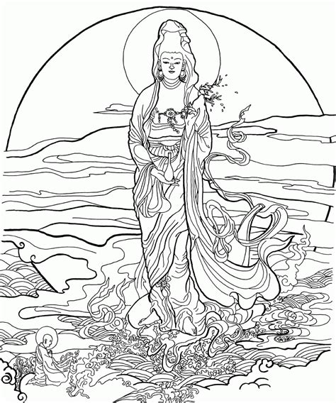 coloring pages for adults buddhist buddhist coloring pages coloring home
