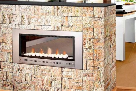 Dual Sided Gas Fireplace by Gas Fireplaces