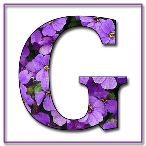 enchanted s quot purple flowers quot free scrapbook alphabet letters in jpg png