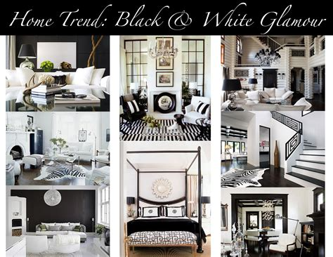 Black White Home Decor by Home Trend Black Amp White Glamour Mountain Home Decor