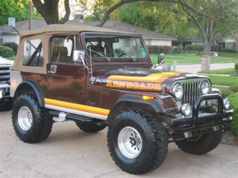 amc jeep cj7 original jeep cj7 amc jeep cj7