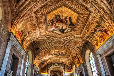 vatican museum ceiling flickr photo