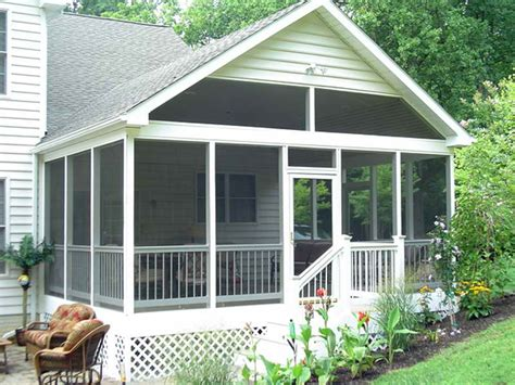 porch blueprints planning ideas free screened porch plans screened in