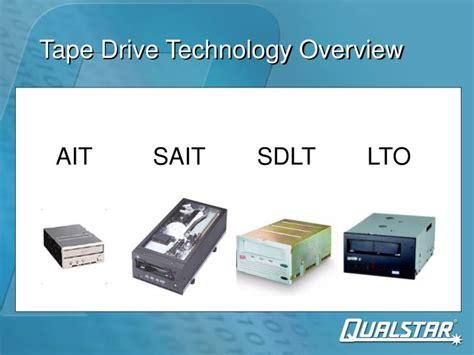 test technology overview ppt download ppt tape drive technology overview powerpoint