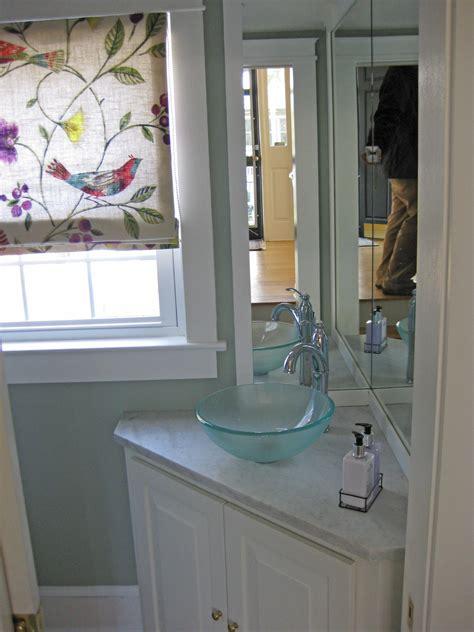 corner mirrors for bathrooms small powder room bathroom with corner vanity cabinet