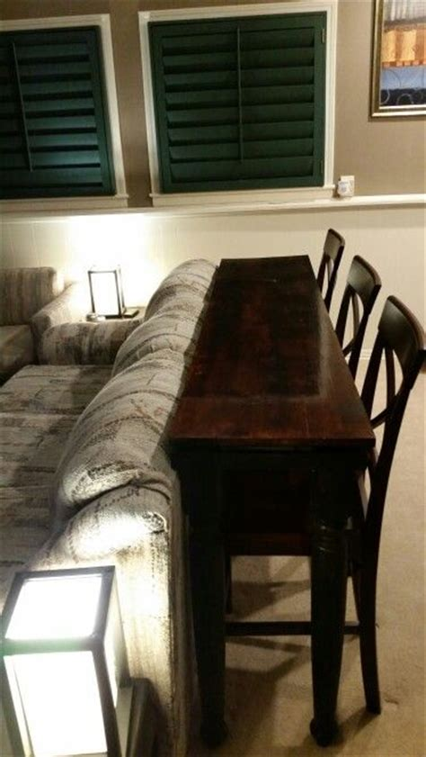 tall table behind couch 78 best ideas about table behind couch on pinterest