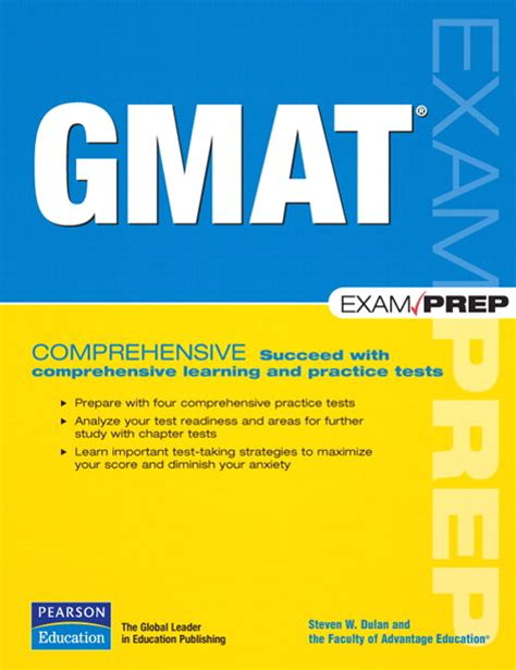 Gmat Mba Store by Gmat Prep Pearson It Certification