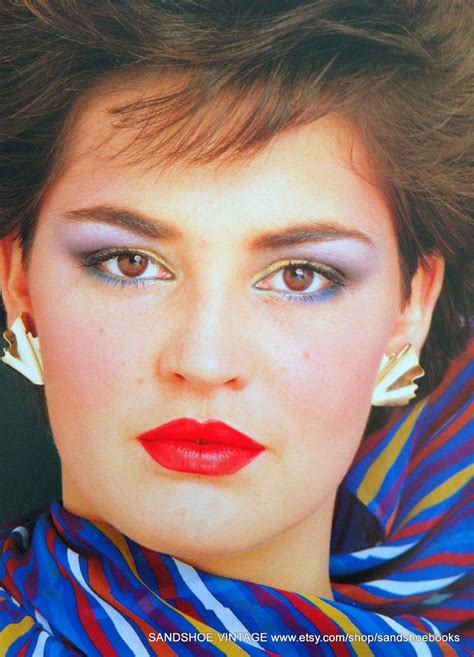 5 Tips To Mastering The 80s Make Up Revival by 120 Best Vintage Make Up 80s Images On