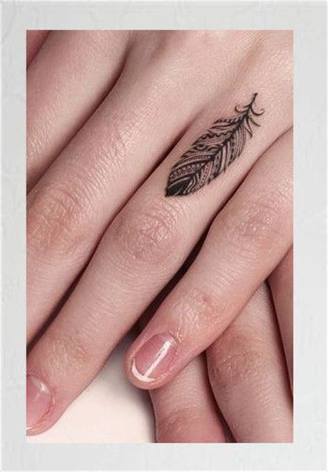 feather tattoo on hand bonus delicate finger feather 31 of the prettiest