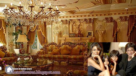 shahrukh khan home interior actorhouses