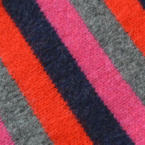 knitting kit stripe scarf knitting kit by warm pixie diy