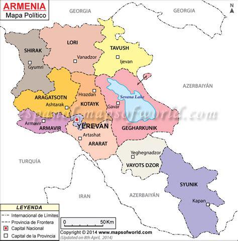 donde se localiza croacia armenia mapa mapa de armenia
