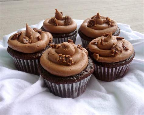 cupcakes recipe delicious nutella cupcake recipe chef in training
