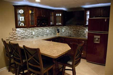 avon lake basement remodel before and after