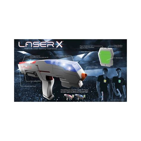 Lasery Set laser x two 2 player laser tag gaming set and 50 similar items