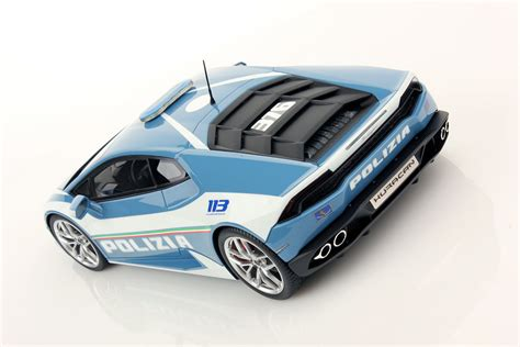 Lamborghini Huracan Polizia Lamborghini Hurac 225 N Lp 610 4 Polizia 1 18 Mr Collection