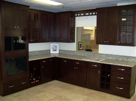 espresso colored kitchen cabinets espresso cabinets kitchen color schemes emerson design