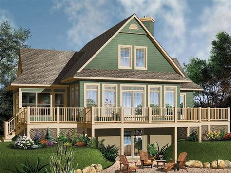 waterfront house plans southern living waterfront house plans