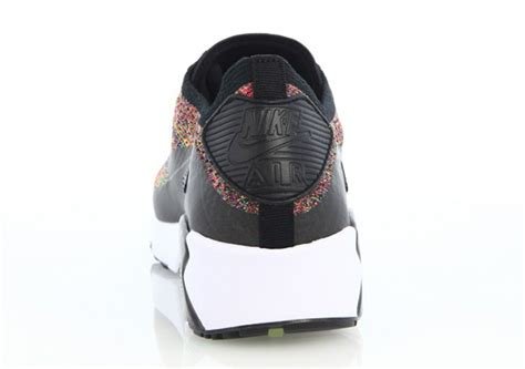 Nike Flyknit Airmax Multi Color nike air max 90 flyknit multi color 875943 002