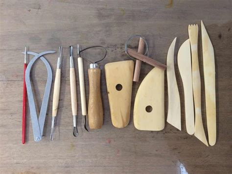 Handmade Pottery Tools - pottery tools pottery in waukesha