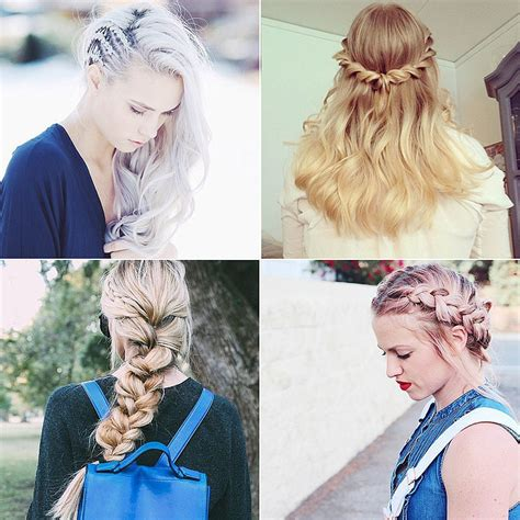 types of braides types of braids popsugar beauty
