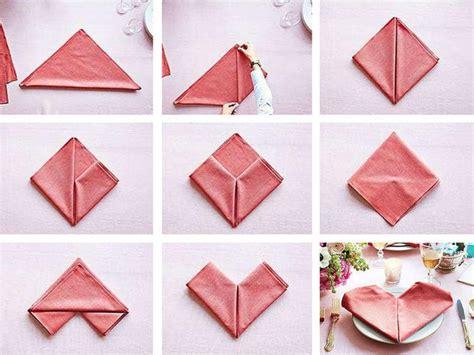 Origami Con I Tovaglioli by Come Piegare Tovaglioli Donna Moderna