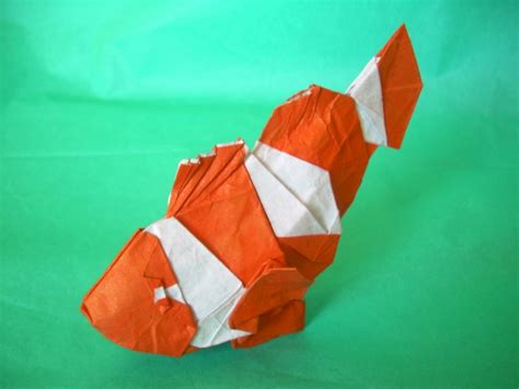 Origami Clown Fish - pin sail fishjpg on