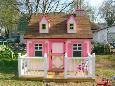 Backyard Playhouse Plans by 15 Amazing Outdoor Playhouse Ideas Rilane