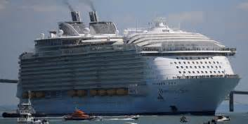 Largest Cruise Ship by Harmony Of The Seas Debut Business Insider