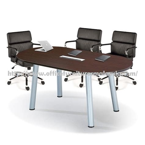 office modern oval meeting desk table furnitures klang valley