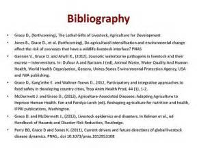 Meaning Of Bibliography In Report Writing by Zoonoses The Lethal Gifts Of Livestock Bibliography Slide Flickr Photo
