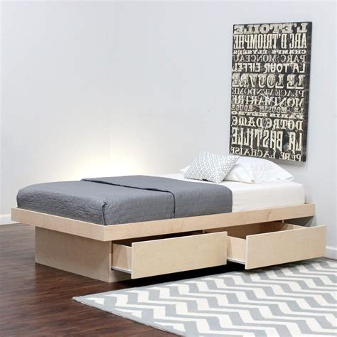 twin xl bed frames twin xl platform bed frame spillo caves