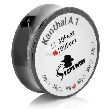 Authentic Youde Ud Kanthal A1 26 Awg 30 Feetkawatvapevapordi T0210 3 authentic kanthal a1 26 awg 30m resistance wire for rba