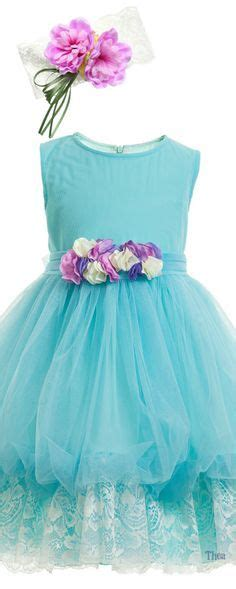 Gaun Tutu Flower Lace Princess Anak Dress Pesta Wedding Bayi Balita babydoll pageant dresses for toddlers aqua glitz
