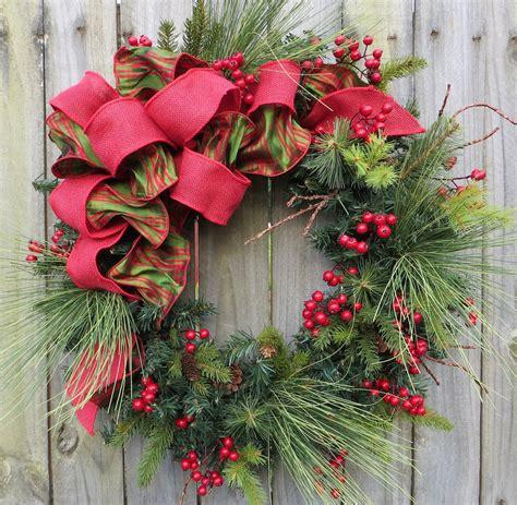 christmas wreaths decorating ideas    feed