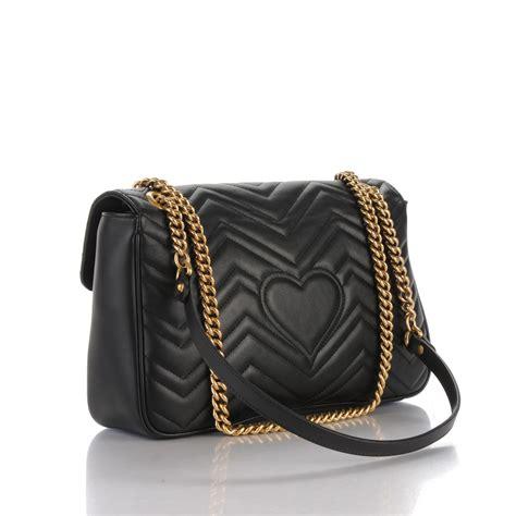 Gg Marmont Matelass Shoulder Bag gucci calfskin medium gg marmont matelasse shoulder bag black 166958