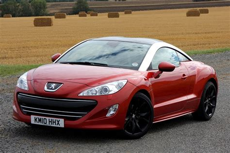used peugeot car prices peugeot rcz coupe from 2010 used prices parkers